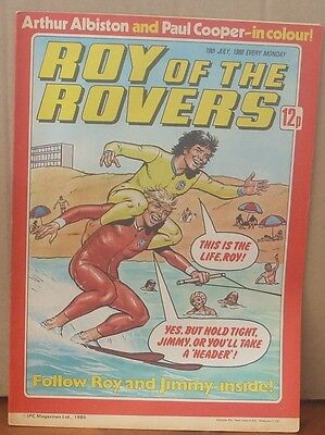 ROY OF THE ROVERS 19th July 1980 The Hard Man MIghty Mouse Tommy's Troubles
