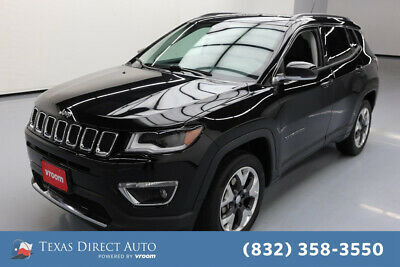 2018 Jeep Compass Limited Texas Direct Auto 2018 Limited Used 2.4L I4 16V Automatic 4WD SUV