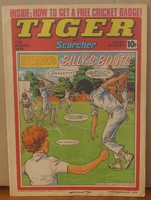 TIGER and SCORCHER 11th August 1979 Johnny Cougar Hotshot Hamish Billy's Boots