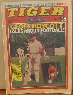 TIGER and SCORCHER 1st September 1979 Johnny Cougar Hotshot Hamish Billy's Boots