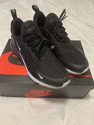 big sale 07dff 5e277 Nike Air Max 270 Men Black And White Shoes Foot Locker Size 10