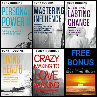Anthony Tony Robbins Course Personal Health Change Power Relationship Bundle BUY