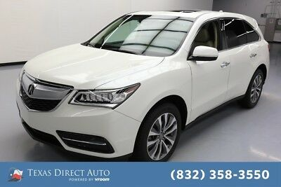 2015 Acura MDX Tech/Entertainment Pkg Texas Direct Auto 2015 Tech/Entertainment Pkg Used 3.5L V6 24V Automatic AWD SUV