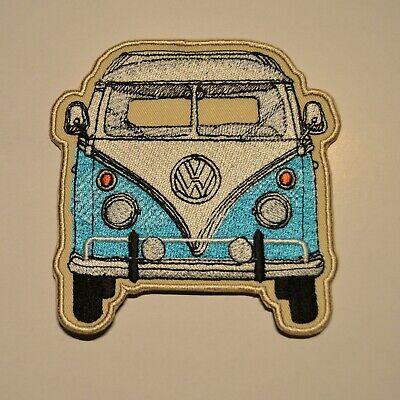 patch, combi, vw , broder et thermocollant ,9.5cm