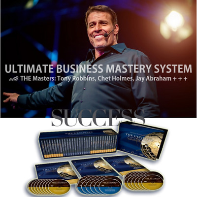 Tony Robbins & Chet Holmes - Ultimate Business Mastery System (Complete)