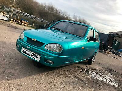 2002 Reliant Robin Bn1 Low Miles One Of The Last Made Rare Car Aixam Microcar