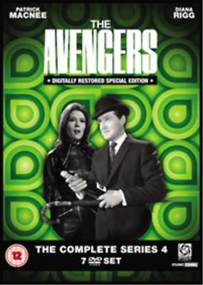 Patrick MacNee, Diana Rigg-Avengers: The Complete Series 4 DVD NUOVO