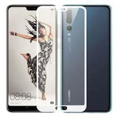 5D Premium Genuine 9H Full Screen Tempered Glass Protector Huawei P20, P20 Pro