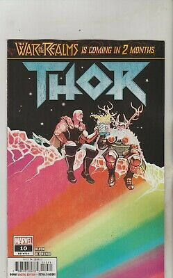 Marvel Comics Thor #10 April 2019 1St Print Nm