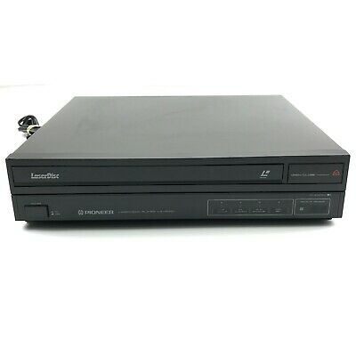 Pioneer LD-V2000 LaserVision LVP/TV CX System Home Audio Video Laser Disc Player