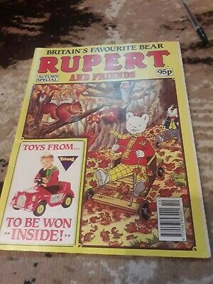 Rupert and friends Marvel Comic Vintage Autumn Special 1992 Rare