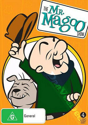 The Mr. Magoo Show - NEW PAL/NTSC Cult 4-DVD Set Jim Backus