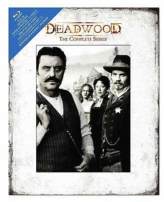 Deadwood: The Complete Series (Blu-ray Disc, 2010, 13-Disc Set) DigiBook