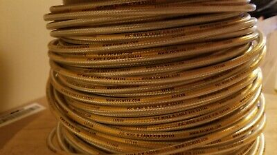 150'+ Pic Wire & Cable P/n S33141 Aerospace Rg393 Substitute Low Loss Coax.