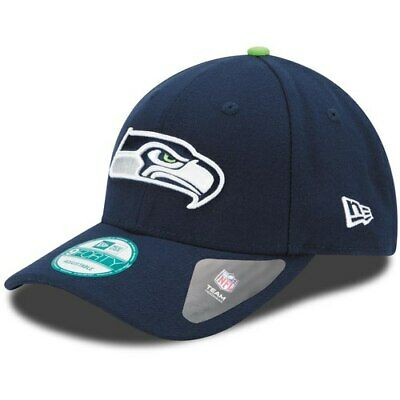 newest ef05f 755d2 New Era Seattle Seahawks College Navy The League 9FORTY Adjustable Hat
