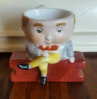 Humpty Dumpty Egg Cup Porcelain Hand Painted Mansell Print