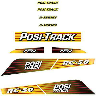 ASV RC50 Decals Stickers Repro Kit