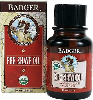 Pre-Shave Oil, Badger, 2 oz