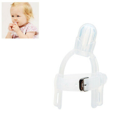 Silicone Kids Finger Guard Baby Wrist Band Treatment Kit for Stop Thumb Sucking