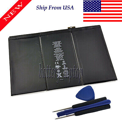 New Internal Battery for iPad 3 3rd 4 4th Generation 11560mAh A1389 A1460 A1458