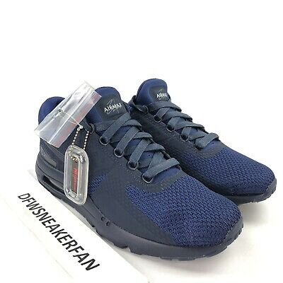 huge discount 40bcd a63c5 NEW NIKE AIR Max Zero QS Men's 12 Binary Blue Black 789695-400 Running Shoe  DS