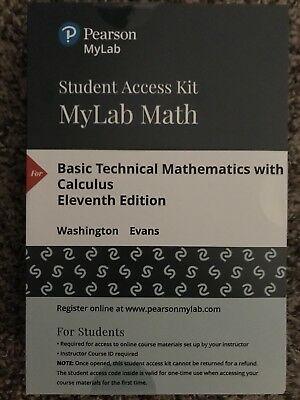 MyMathlab with Pearson EText -- Standalone Access Card -- for Basic Technical...