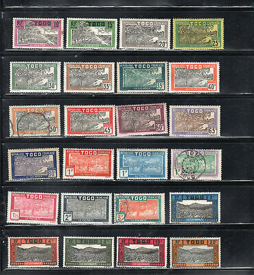 Togo  Africa Stamps   Used & Mint Hinged  Lot  39093