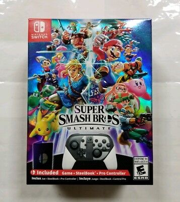 """Super Smash Bros. Ultimate Special Edition (Nintendo Switch, 2018) """"NEW/SEALED"""""""