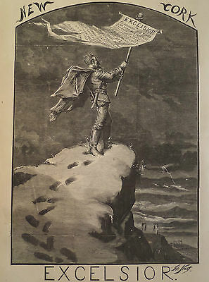 Tammany Ring Excelsior New York Thomas Nast Harper's Weekly 1870
