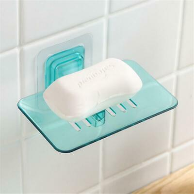 Home Wall Suction Cup Holder Bathroom Shower Soap Dish Basket Tray HS3