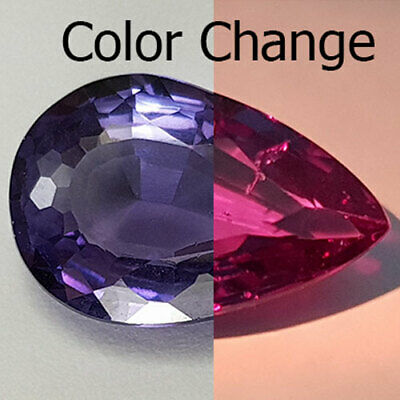 11.96 Cts Public Favorite Big Most Wanted Color Change Natural Alexandrite