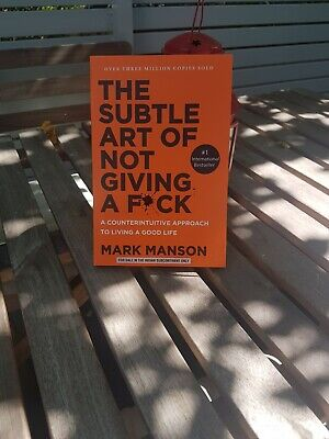 NEW The Subtle Art of Not Giving a F*Ck Paperback by Mark Manson Free Shipping