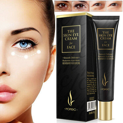 Hyaluronic Acid Eye Cream Remove Eye Bags Dark Circles Anti-Wrinkle Skin Care