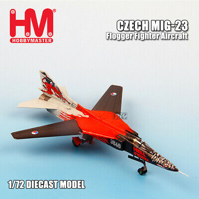 HOBBY MASTER Czech MIG-23 Flogger Fighter Aircraft 1/72 diecast model aircraft