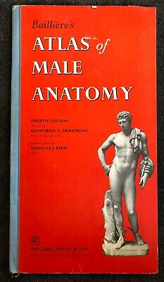 Bailliere's Atlas of Male Amatony 1958 fourth edition