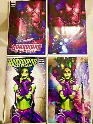 Guardians Of The Galaxy 1 Virgin Variant Clayton Crain + Greg Horn Set Nm New