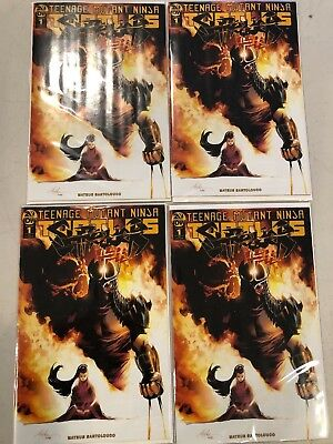 Tmnt Shredder In Hell 1 Rafael Albuquerque 1:10 Incentive Variant 4 Copy Lot Nm