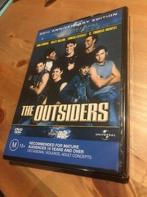 The Outsiders: DVD (brand new)