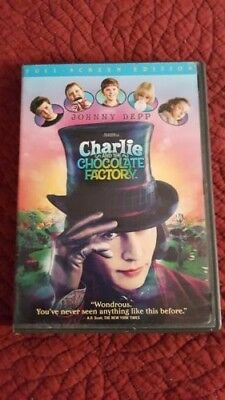 Charlie and the Chocolate Factory DVD 2005 Full - Screen Edition - Used