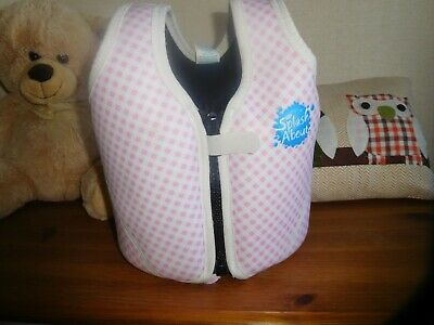 Childs Floatation Vest/jacket   Swimming Aid   Age 1-3   Very Good Condition