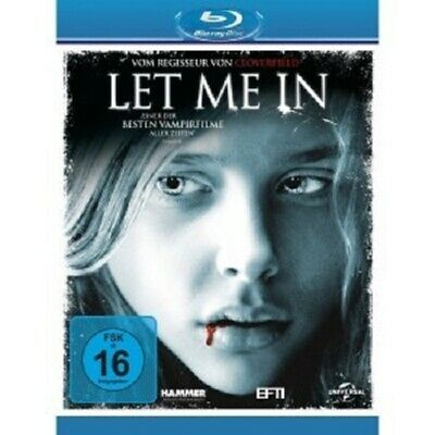 Let Me In -  Blu-Ray New Kodi Smit-Mcphee,Chloe Grace Moretz,Richard Jenkin