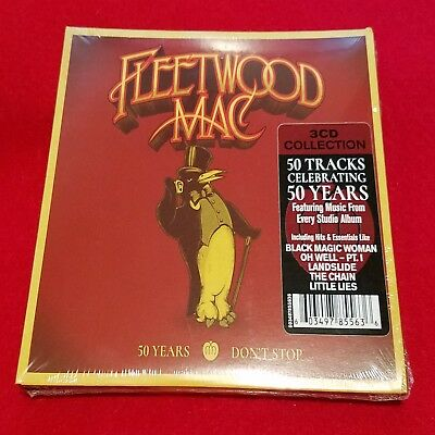 FLEETWOOD MAC - 50 Years Don't Stop - 3 CD Deluxe Edition - Greatest Hits