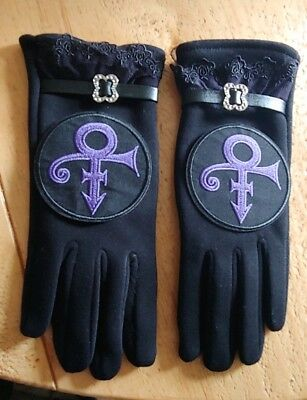 """💜""""The Purple One"""" Love Symbol Touch Screen Gloves💜"""