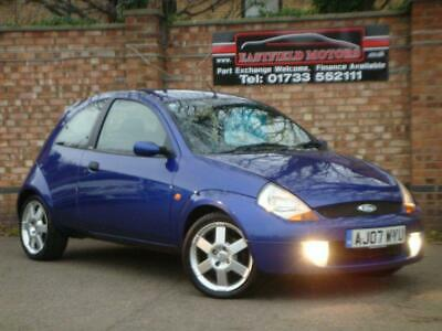2007 07 Ford Ka 1.6 Sportka Se Leather 3D 95 Bhp