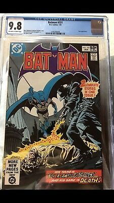 Batman - #331 - January 1981 Issue. CGC Official Grade 9.8 NM. DC Comic