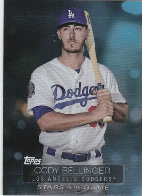 "2019 Topps Series 1 ""Stars of the Game"" Cody Bellinger #SSB-66"