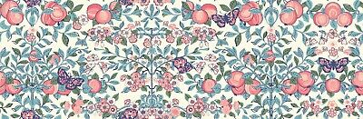 More 100/% Cotton Kimberly and Sarah Coral Orchard Garden Liberty Fabric FQ