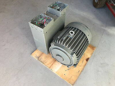 Anderson Converters Rotary Phase Converter 3 HP 15 Amps 220V to 220V 3-Phase NOS