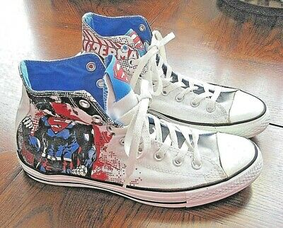 06904bec596 CHUCK TAYLOR CHUCKS DC Comics Killer Croc Converse Shoes Men Sz 8 ...