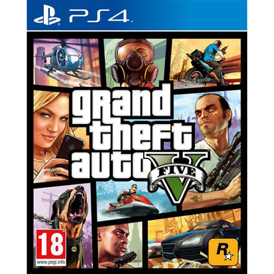 Take 2 Ps4 Gta Grand Theft Auto 5 Eu